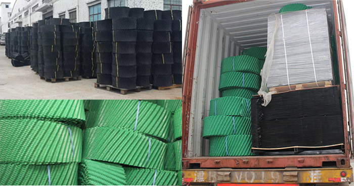 Round-cooling-tower-fill-Package-and-transportation