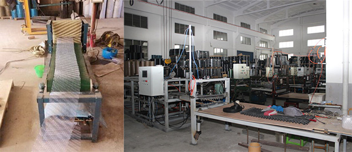 Round-cooling-tower-fill-Production