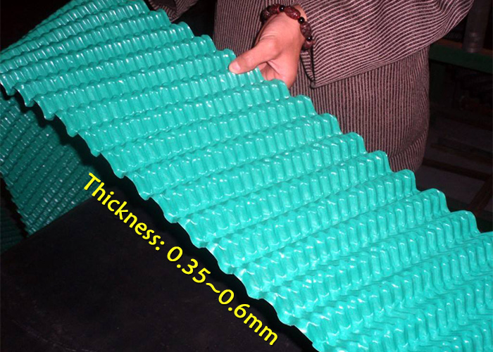 Round-cooling-tower-fill-thickness