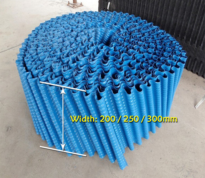 Round-cooling-tower-fill-width