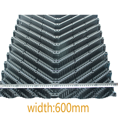 600mm Oblique cooling tower fill